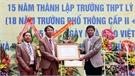 Trường THPT Lý Thường Kiệt (Việt Yên) đón nhận Bằng khen của Thủ tướng Chính phủ