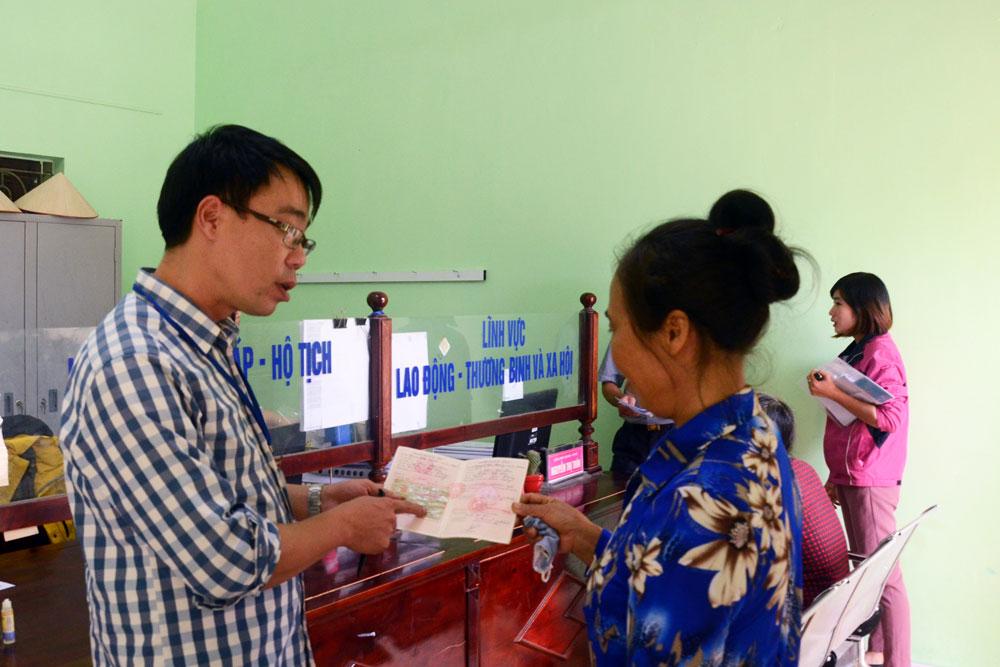 Củng cố tổ chức đảng ở Việt Yên: Cụ thể, sát thực tiễn