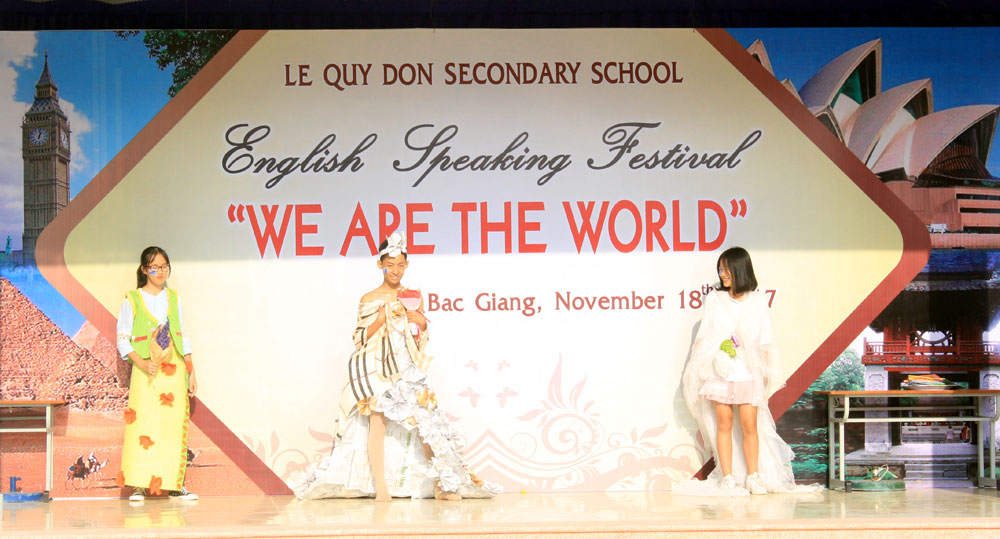"Bac Giang launches ""We are the world"" English speaking Festival"
