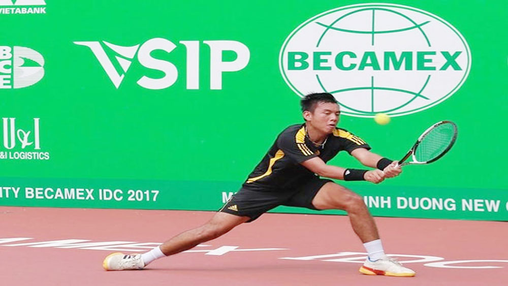 Ly Hoang Nam finishes second at F2 tennis tourney