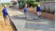 Thiếu xi măng cứng hóa đường giao thông nông thôn
