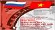 """Triển lãm """"Ảnh hưởng của Cách mạng Tháng Mười Nga tới Cách mạng Việt Nam"""""""