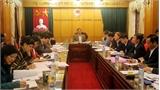 Thẩm định một số nội dung trình Ban Thường vụ Tỉnh ủy và kỳ họp thứ 4, HĐND tỉnh khóa XVIII