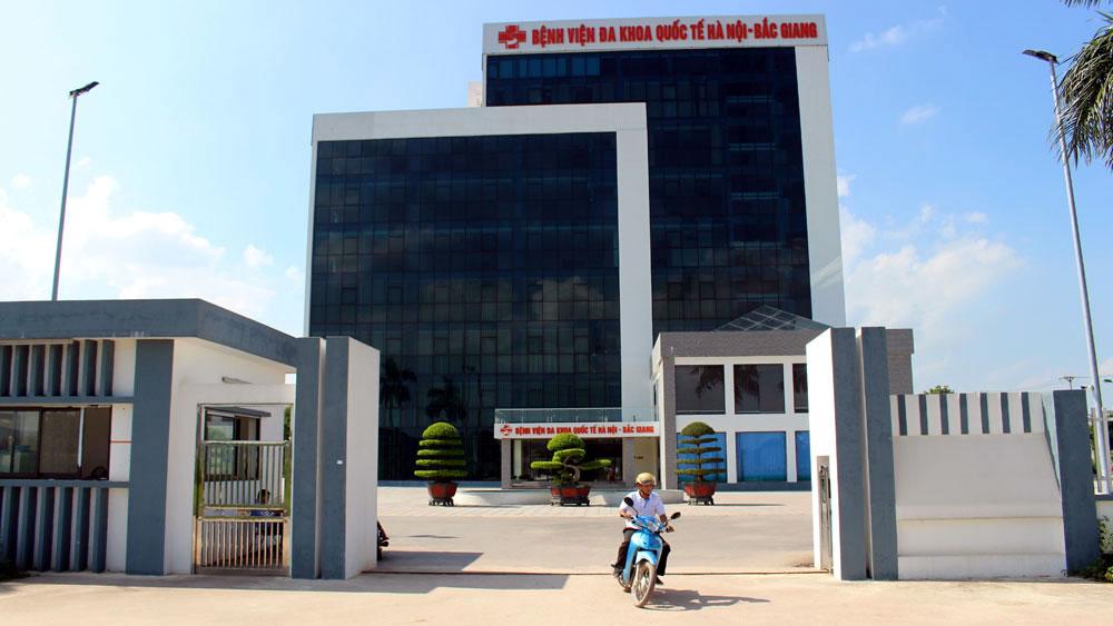 Bệnh viện Đa khoa quốc tế Hà Nội - Bắc Giang phải kê khai, niêm yết giá