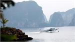Seaplane revs up to give visitors a bird's-eye view of Vietnam's Ha Long Bay and beyond