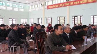 Tiếp xúc cử tri xã Hoàng Ninh và thị trấn Nếnh