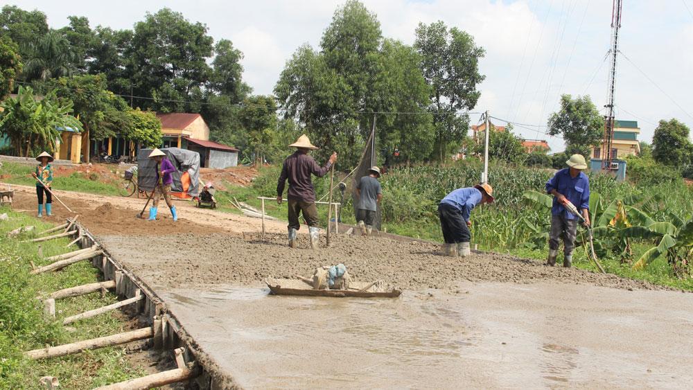 Lạng Giang nhân dân hiến hơn 130 nghìn m2 đất