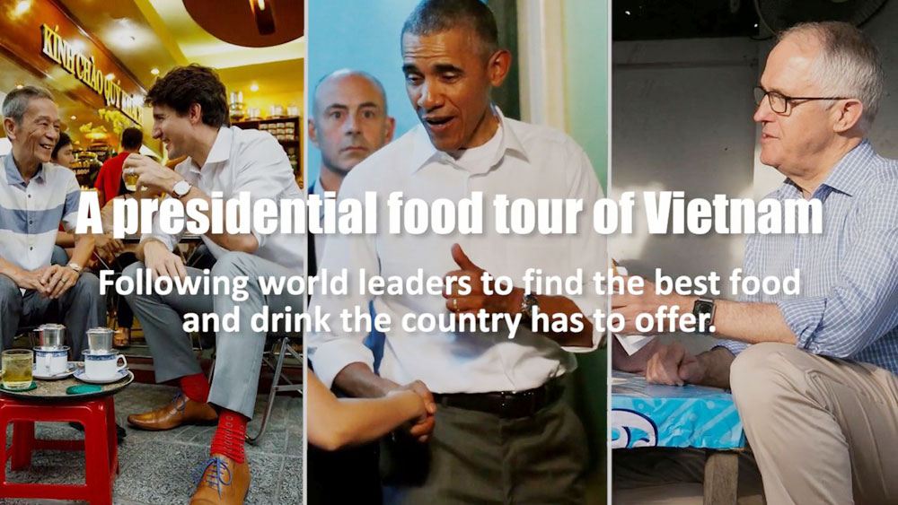 A presidential food tour of Vietnam