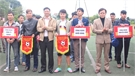 Khai mạc giải bóng đá công nhân viên chức lao động huyện Lục Ngạn năm 2017