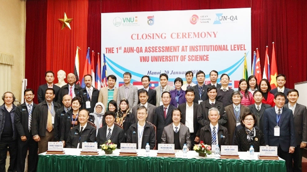 First Vietnamese university recognised with AUN-QA standards