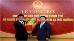 Ông Trần Quý Kiên giữ chức Thứ trưởng Bộ Tài nguyên và Môi trường