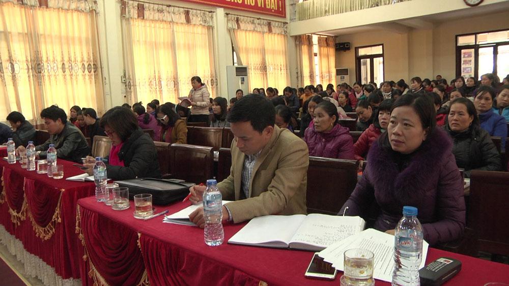 Tổ đại biểu HĐND tỉnh khu vực huyện Yên Dũng tiếp xúc cử tri