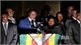 Ông Emmerson Mnangagwa lần đầu xuất hiện sau khi về nước