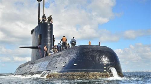 Argentina tìm tàu ngầm mất tích tại nơi có tiếng động bất thường