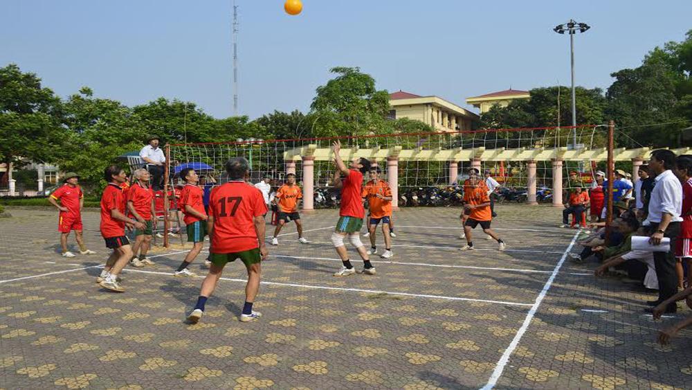 Xây dựng mô hình điểm phát triển thể dục, thể thao ở xã Giáp Sơn