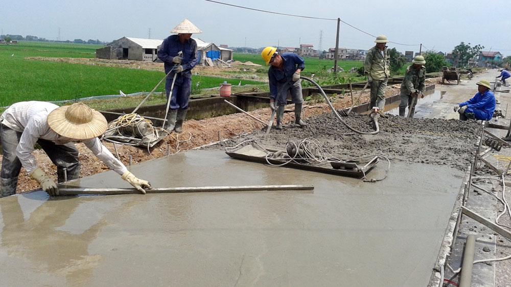 Khắc phục tình trạng thiếu xi - măng: Điều chỉnh hỗ trợ giữa các địa phương