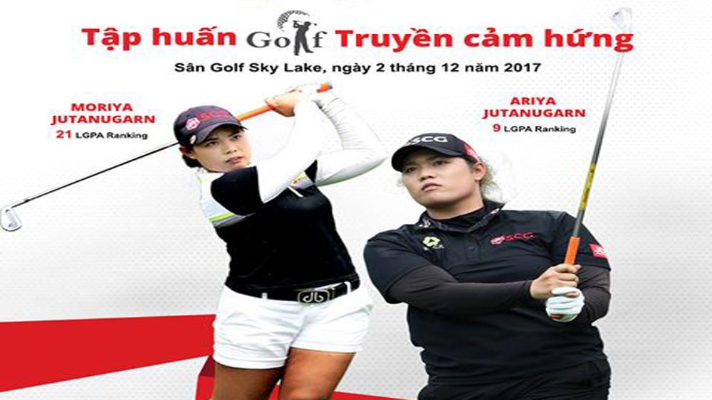 Cặp chị em golf thủ hàng đầu thế giới sắp tới Việt Nam