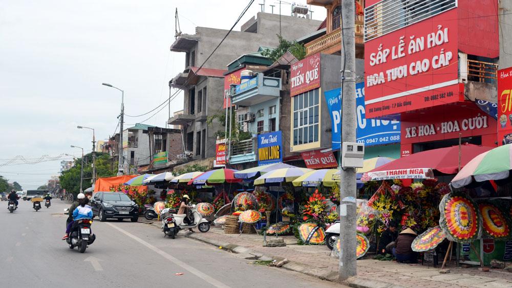 Dãy phố hoa đường Xương Giang (TP Bắc Giang) sẽ sạch đẹp trước Tết Nguyên đán