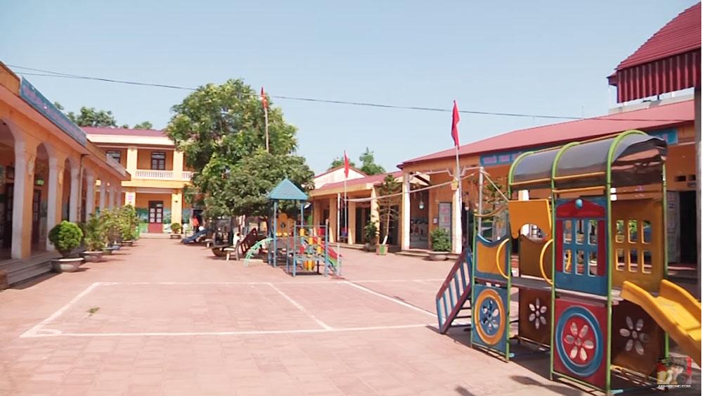 Phấn đấu xây dựng thêm 86 phòng học cho các trường mầm non