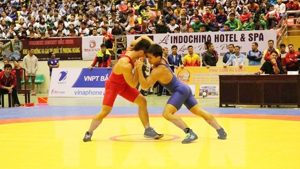 Southeast Asian, Wrestling Championships, kicks off, Classical Wrestling Championships, Bac Ninh province, classical categories, women's freestyle event