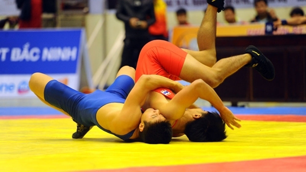 Vietnam, championship, Southeast Asian Wrestling Championships, Vietnamese team, gold medals, men's freestyle, classical categories, women's freestyle event, Bac Ninh province