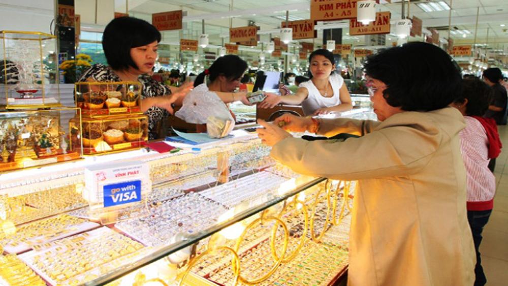 Theo đà thế giới, giá vàng trong nước tăng nhẹ phiên mở cửa đầu tuần