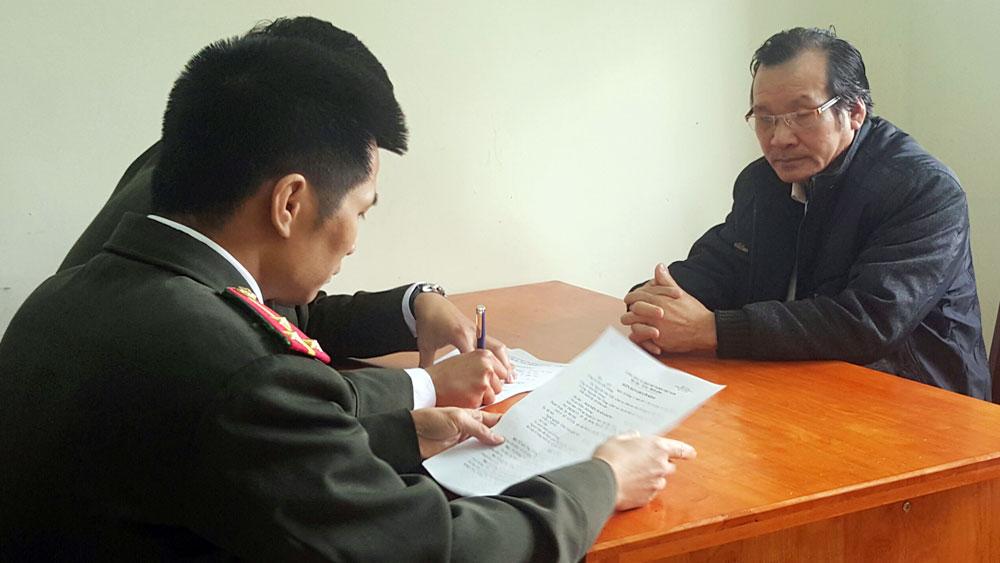Đối tượng Nguyễn Tuấn Giảng.