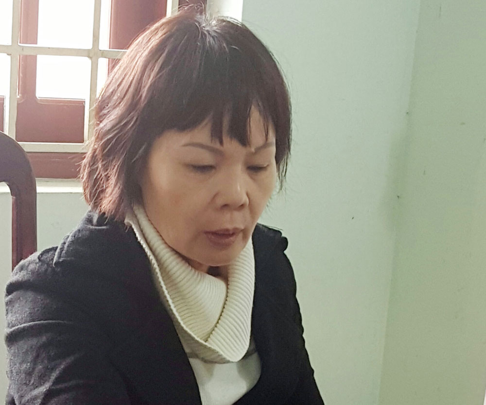 Đối tượng Nguyễn Thị Thi.
