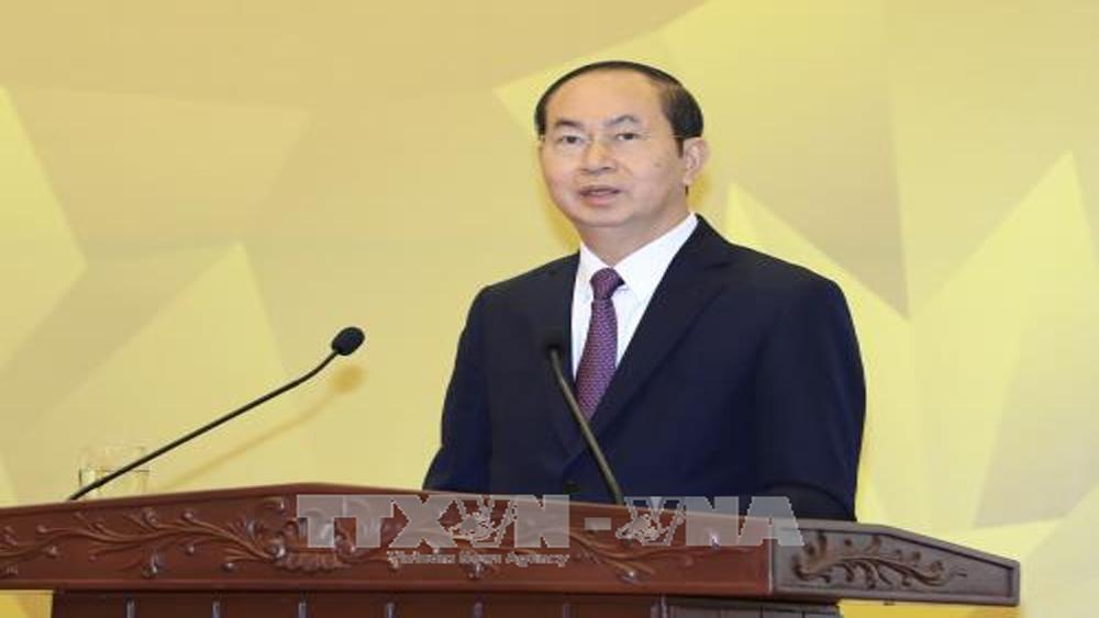 Chủ tịch nước Trần Đại Quang: Thành công của Năm APEC 2017 tạo động lực mới cho đất nước