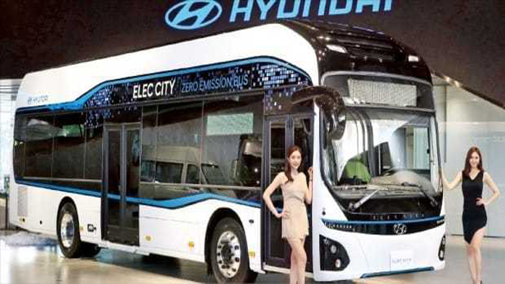 Xe bus điện Elec-City.
