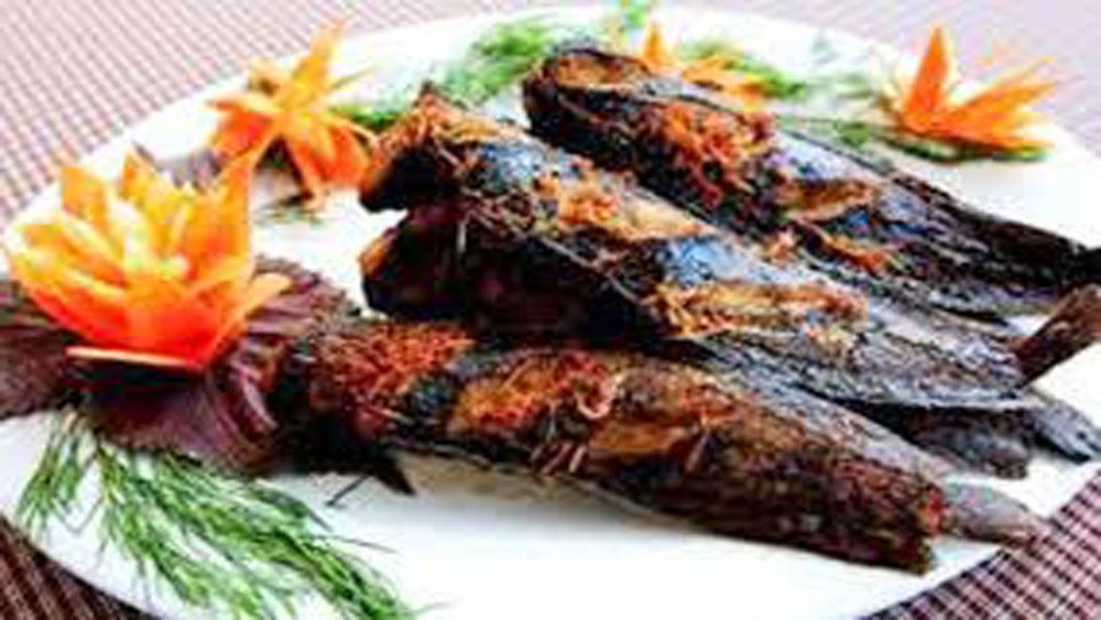 Cá trê,  nướng mẻ, Vị ngọt thơm, hấp dẫn, ấm áp