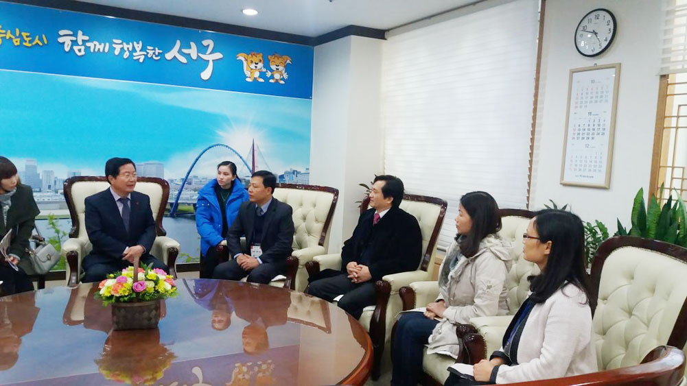 Bac Giang delegation visits RoK's Daejeon city
