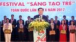 """Bắc Giang có 2 công trình được tuyên dương tại Festival """"Sáng tạo trẻ"""" toàn quốc"""