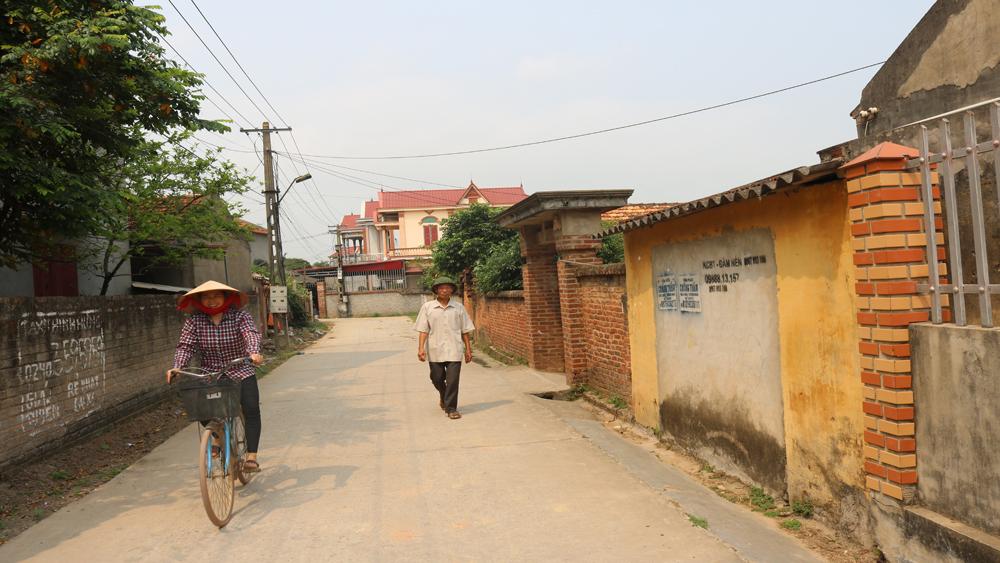 Toàn huyện Lục Nam sẽ cứng hóa khoảng 257 km đường thôn và nội đồng