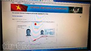Bổ sung 6 nước có công dân được thí điểm cấp thị thực điện tử