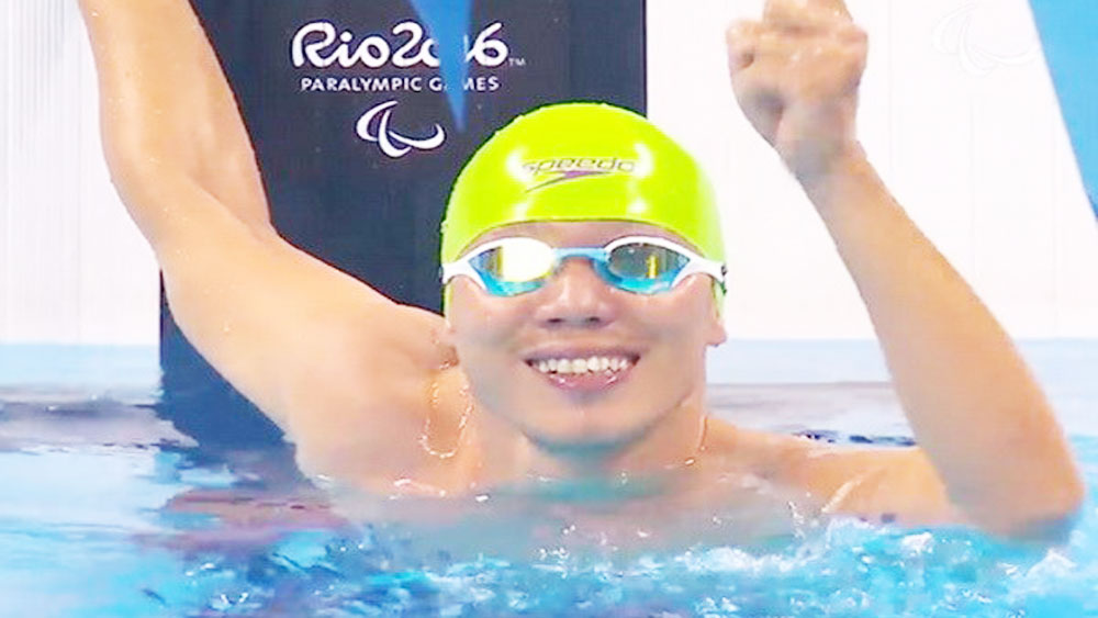Vietnam claims first bronze at World Para Swimming Championships