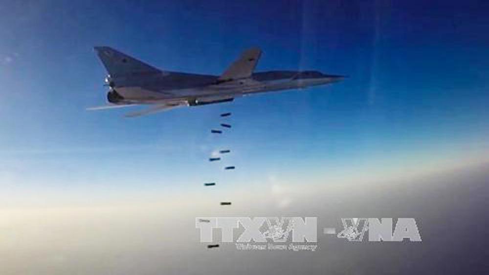 Nga tiếp tục không kích IS ở Syria