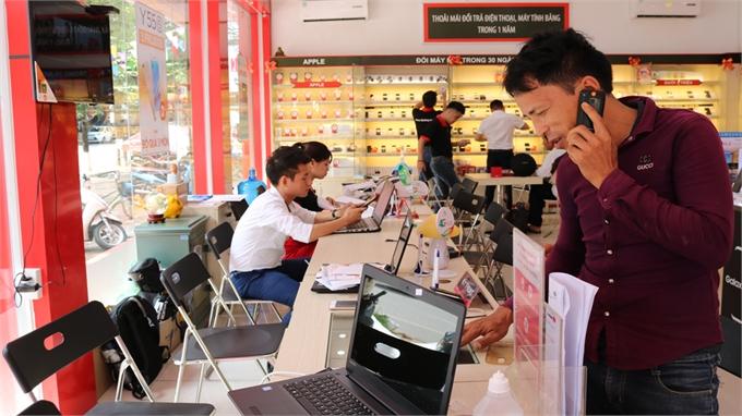 TP Bắc Giang: Giá trị sản xuất thương mại- dịch vụ ước đạt 13.680 tỷ đồng, tăng 18,5%