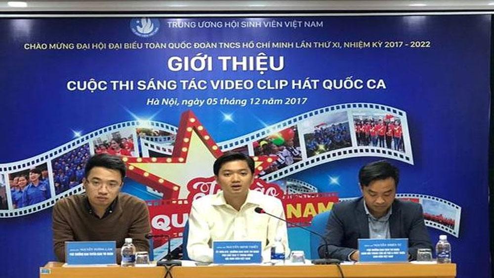 Phát động cuộc thi sáng tác video clip hát Quốc ca