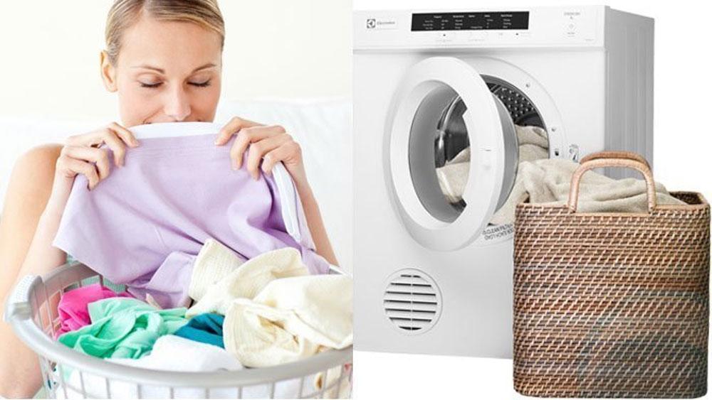 Có 3 loại máy sấy quần áo cơ bản
