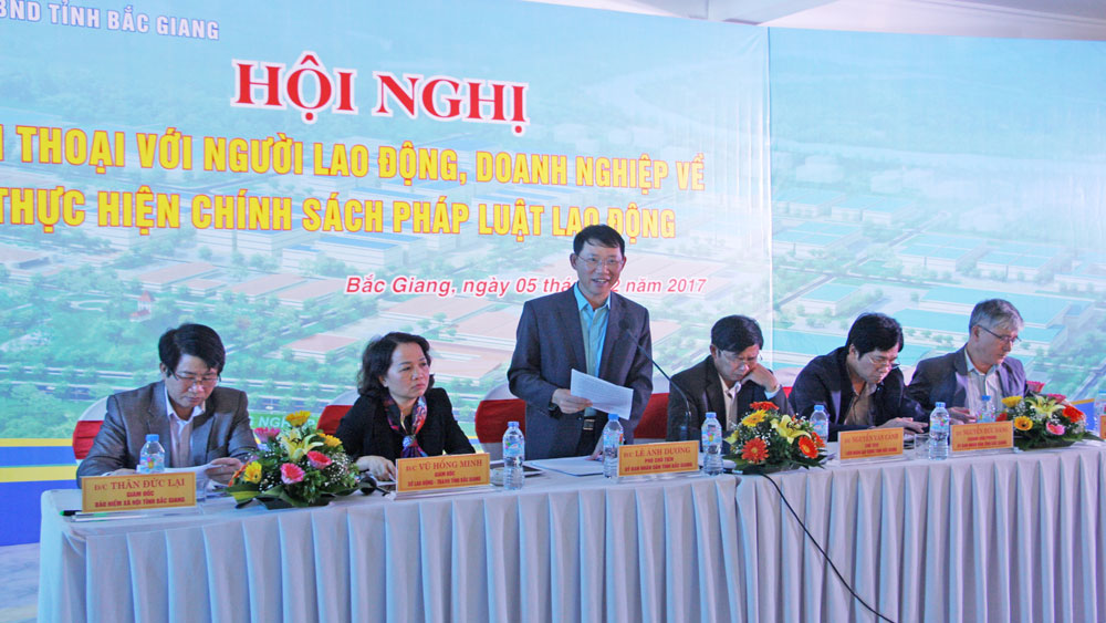 Bac Giang actively implements social welfare policies for workers