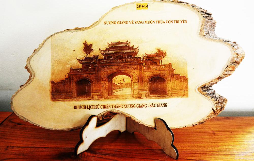 Mời bạn đọc bình chọn mẫu sản phẩm lưu niệm du lịch Bắc Giang