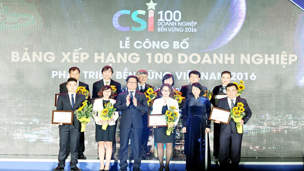 Commerce chamber awards sustainable enterprises in Vietnam