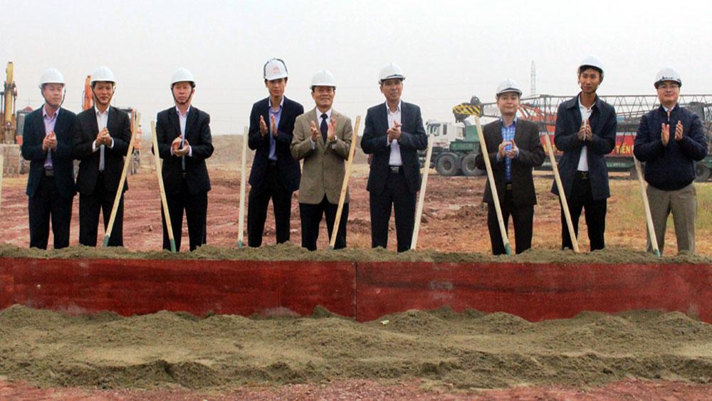 Khởi công xây dựng Nhà thi đấu thể thao tỉnh