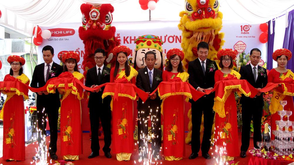 Công ty BHNT Dai-ichi Việt Nam: Khai trương Văn phòng tại Yên Dũng