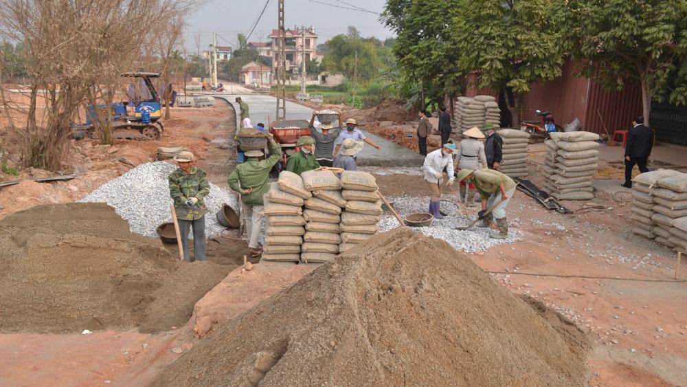 Tân Yên hiến gần 32 nghìn m2 đất xây dựng các công trình phúc lợi