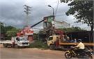 Huyện Lục Ngạn (Bắc Giang) quyết tâm giải tỏa hành lang ATGT tại thị trấn Chũ