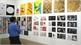 50 quốc gia tham dự Triển lãm Đồ họa chữ quốc tế