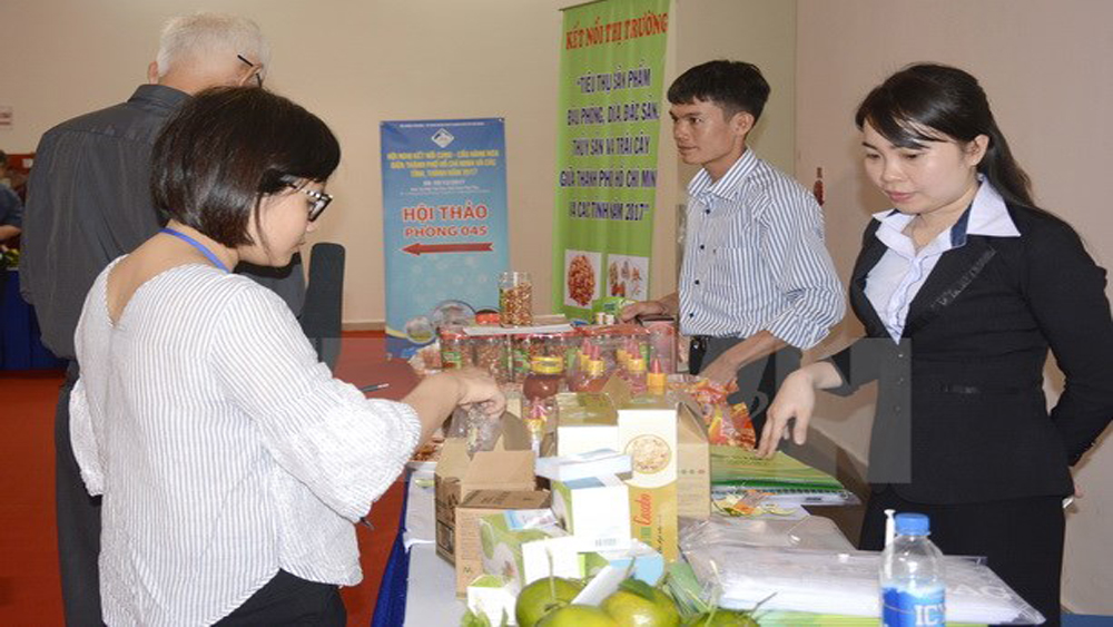 Khai mạc Hội nghị kết nối cung-cầu hàng hóa 2017 tại TP Hồ Chí Minh