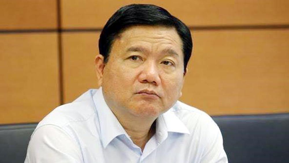 Đình chỉ sinh hoạt đảng đối với đồng chí Đinh La Thăng